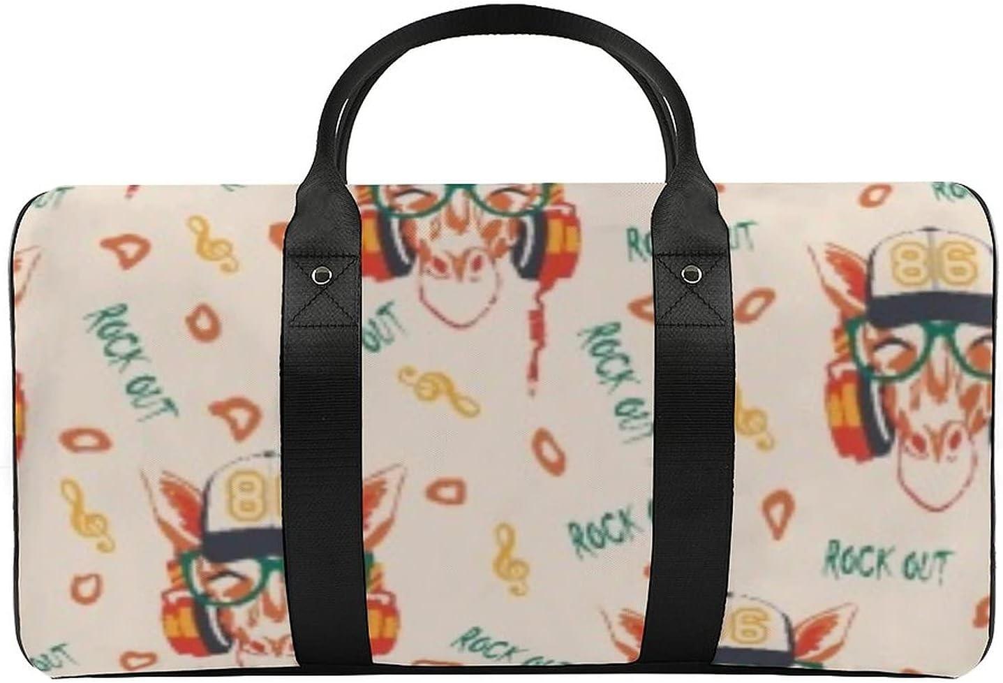 Rock Deer Sports Gym Bag Travel Max 66% OFF with bag Wet Pocket Omaha Mall Sh Duffel