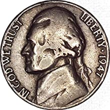 1947 d jefferson nickel