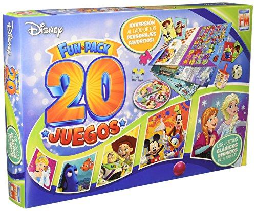 Disney Juego de Mesa Fotorama 20 Juegos 327