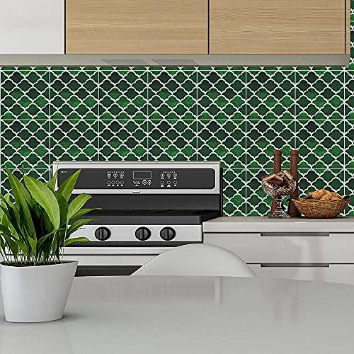 Agleta Autoadhesiva Etiqueta Engomada 3D Cocina Cuarto De Baño Etiqueta De Pared Decoración De La Decoración Auto Adhesivo Decoración-15 X 15 Cm X 10Pcs