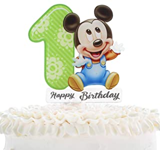 Groovy Best Baby Mickey And Minnie Cake Toppers Of 2020 Top Rated Funny Birthday Cards Online Inifodamsfinfo