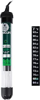 Uniclife Submersible Aquarium Heater with Thermometer and Suction Cup Gallon