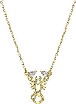 Celestial Charm Scorpio Pendant Necklace