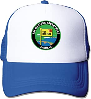 Trucker The Masters Tournament Golf Logo Adjustable Mesh Back Baseball Cap