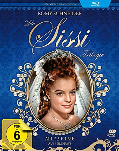 Sissi Trilogie - Königinnenblau-Edition - Filmjuwelen [3 Blu-rays]