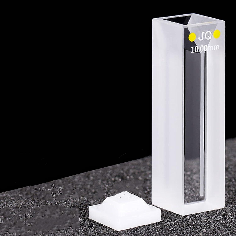 Quartz Micro Cuvette Miniature Bevel Slit Sample Cell (1050ul hi