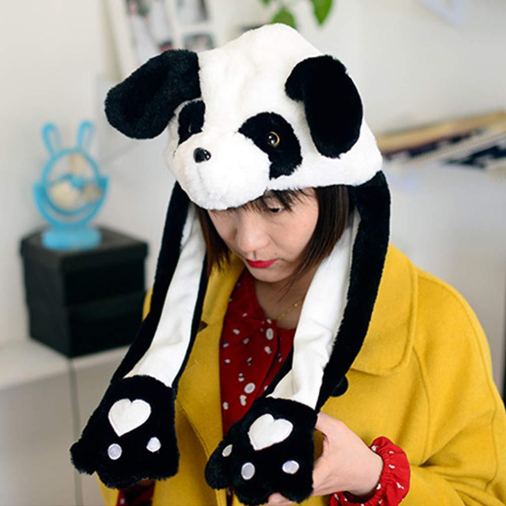 MB-LANHUA Niños Adultos Felpa Corta Cute 3D Cartoon Panda Animal ...