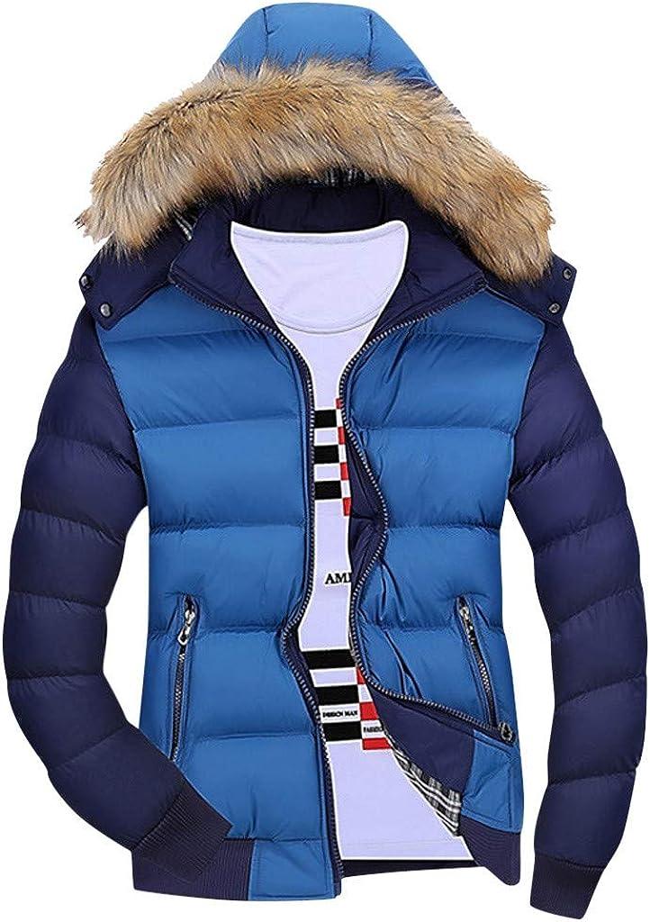 Soldering NIUQI Men Winter Coat Warm Fleece Down Hat Hood Jacket Low price O Fur