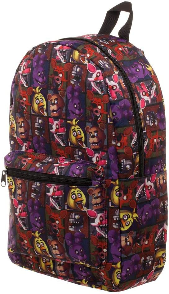 NEW before selling ☆ Five Nights at San Jose Mall Freddy's Backpack Sublimated
