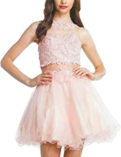 short sweet 16 dresses two piece