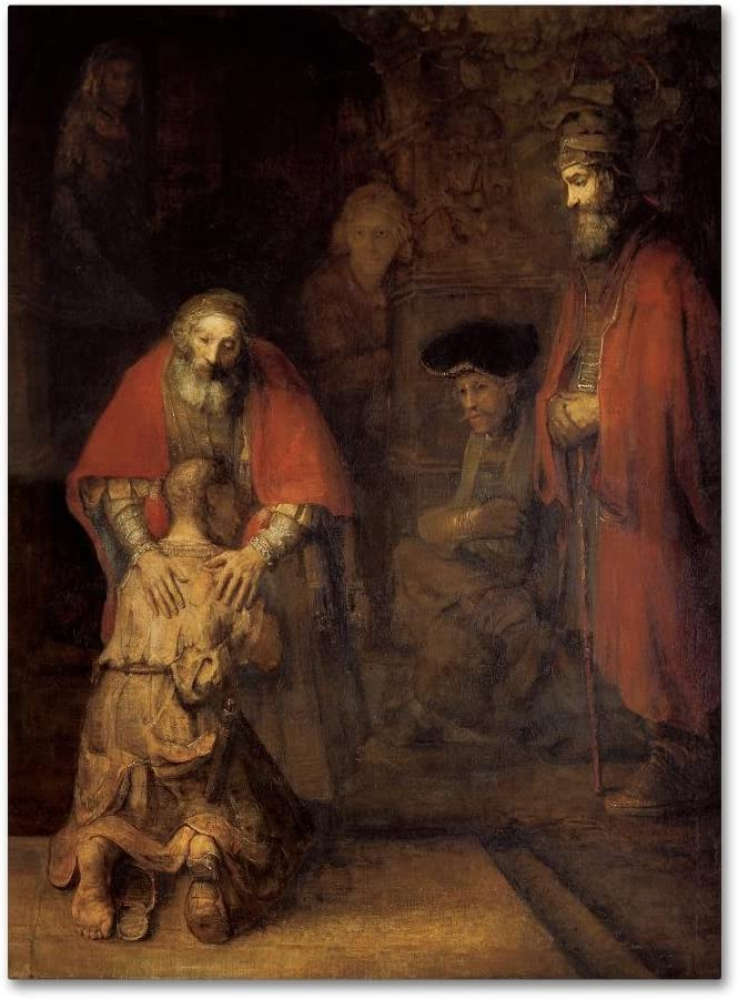 Super-cheap Return of Clearance SALE Limited time the Prodigal Son by Wall Rembrandt Canvas 24x32-Inch