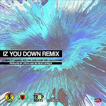 Iz You Down (Remix) - Single