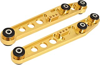 Fit Honda Integra Civic Civic Crx Del Sol Rear Lower Control Arm with polyeurathane material bushing Gold