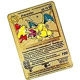 Pokemon Cartas vmax , GX V French Collectible Trading Card, un Juego de Cartas Creativo y Divertido diseñado para coleccionistas Adecuado para el Entretenimiento de la colección Conmemorativa - B