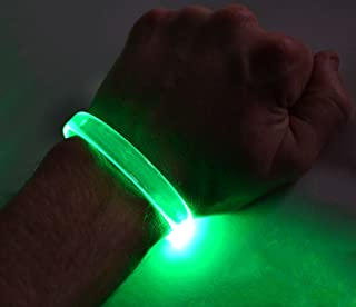 GlowCity LED Light Up Bracelets (Green)