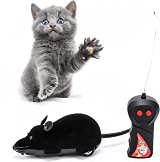 Cat Toys Remote Control Wireless Simulation Plush Mouse RC Electronic Rat Mouse Mice Toy For Pet Cat Toy Mouse