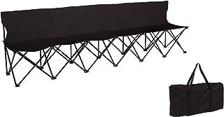 نشانه های تجاری نوک های ورزشی قابل حمل با صندلی - 6 نفر - (قرمز)