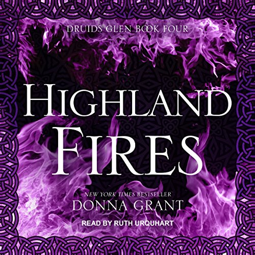 Highland Fires audiobook cover art