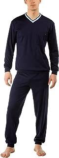 Calida Chill Out 100% Cotton Cuffed Pajama Set (43262)