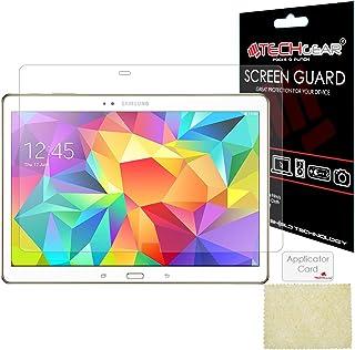 TECHGEAR Skärmskydd för Samsung Galaxy Tab S 10,5 tum (SM-T800/SM-T805) – Ultra Clear Lcd skärmskydd Gaurd-skydd med skärm...