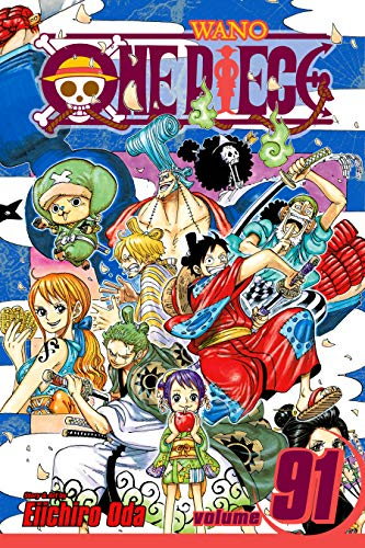 One Piece, Vol. 91: Adventure in the Land of Samurai (English Edition)