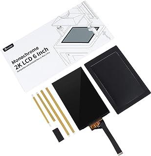 ELEGOO Écran LCD 6,08 pouces Monochrome 2K Compatible avec Les Imprimantes 3D ELEGOO Mars 2 et ELEGOO Mars 2 Pro, avec Rés...