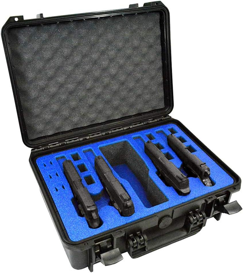 MY CASE BUILDER 4 Pistol Gun Case
