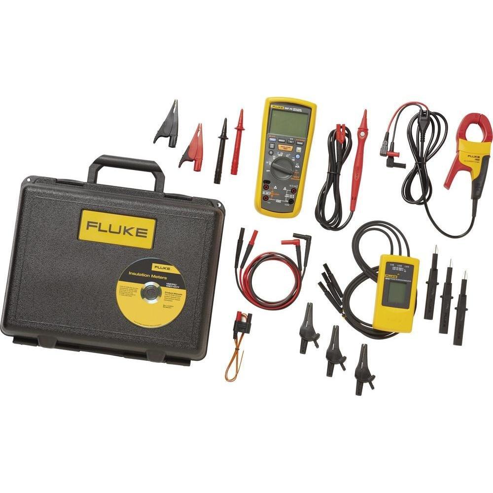 Fluke Industrial 1587/MDT FC 2-IN-1 Kit de localización de averías de Motor y accionamiento avanzado con 9040, I400