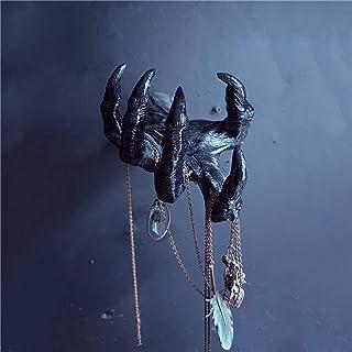 XeinGanpre Statues de Main de Sorcière 3D Fait à la Main Décoration Murale Esthétique Art Sculpture, Résine Rétro Décorati...