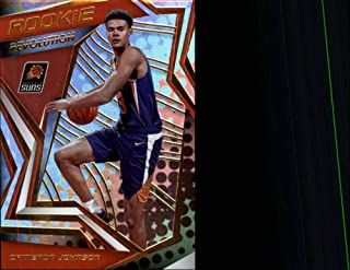 2019-20 Panini Revolution Rookie Revolution Basketball #11 Cameron Johnson Phoenix Suns Official NBA Trading Card (Scan Streaks are NOT on the card)