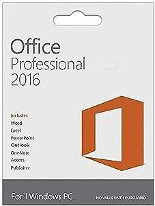 Office Professional 2016 1 PC (Lifetime Version) - KeyCard