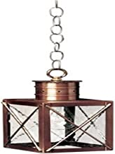 product image for Brass Traditions 232 SXAB Small Hanging Lantern 200 Series, Antique Brass Finish 200 Series Hanging Lantern