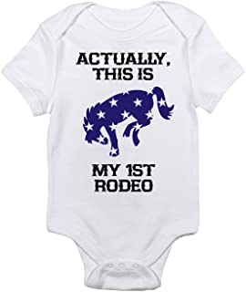 My First Rodeo Baby Horse Bodysuit, Short Sleeve, Infant Boys