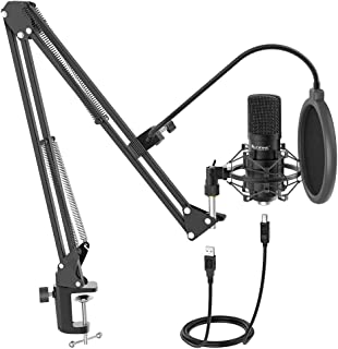 Fifine T730 USB Condenser Microphone Broadcast/Podcast w/Filter/Desk Stand