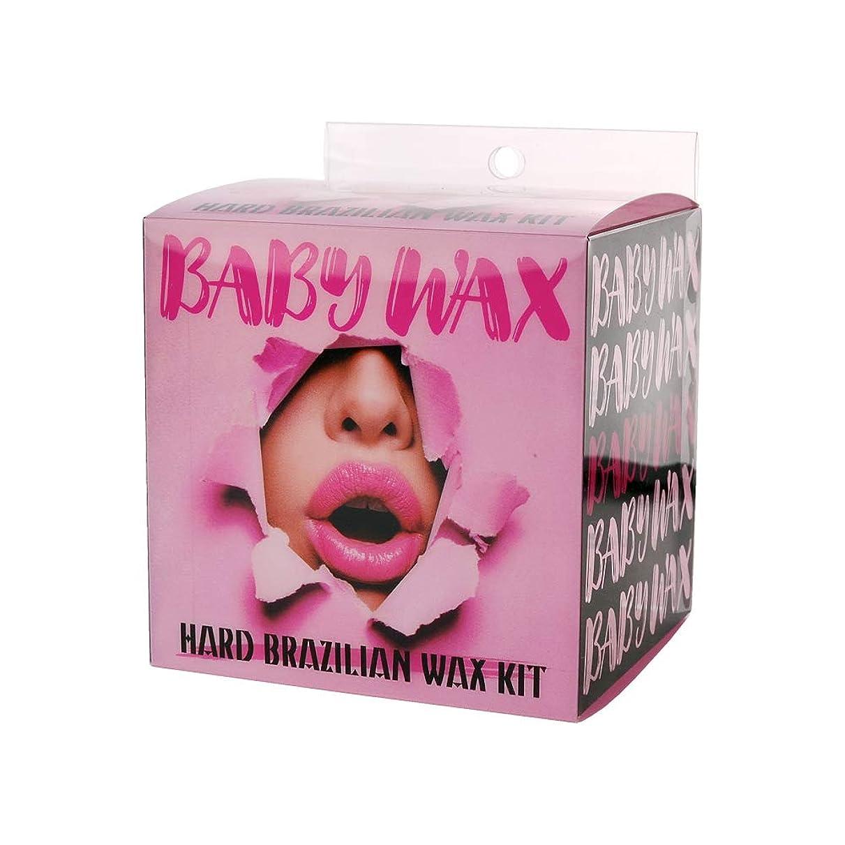 姪ミキサー分数babywax(ベビーワックス) ハード ブラジリアン ワックス キット (1セット)
