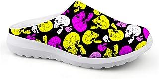 Sandalias con diseño de cráneo, Unisex, para Adultos