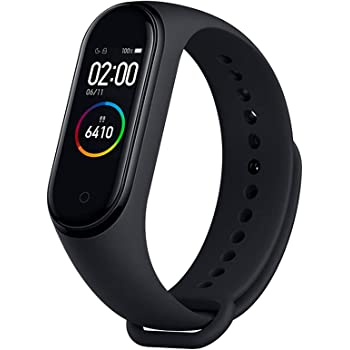 Xiaomi Mi Band 4 AMOLED Color Screen Wristband BT5.0 Fitness Tracker Smart Wristbands (Black)