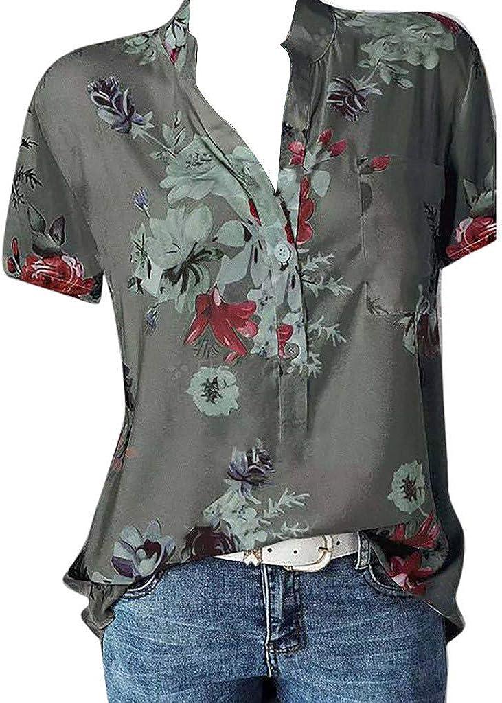 Aukbays Womens Short Sleeve Tops Graphic Good Moms Say Bad Words Print Shirt Solid O Neck Pullover Tshirt Tees Blouse