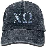 Trableade Chi Omega Blue Plant Unisex Sport Adjustable Structured Baseball Cowboy Hat