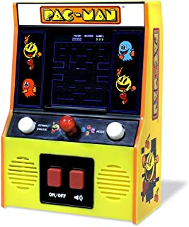 Basic Fun Arcade Classics – Pac-Man Color LCD Retro Mini Arcade Game