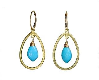turkish turquoise earrings