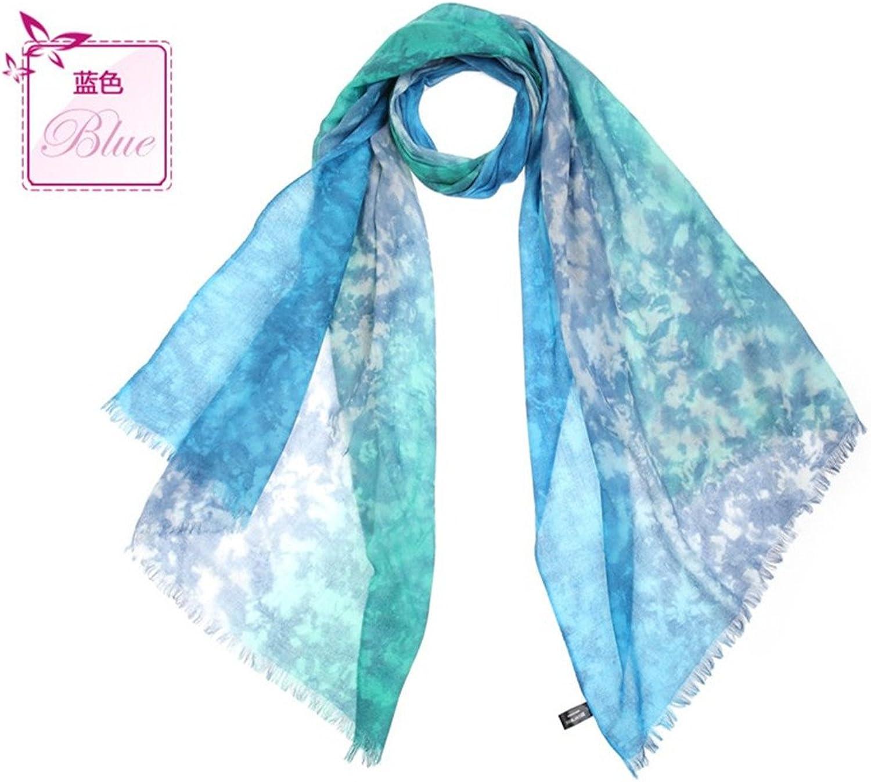 HYP Scarf Lady printing Winter warm scarf fringed 19670cm