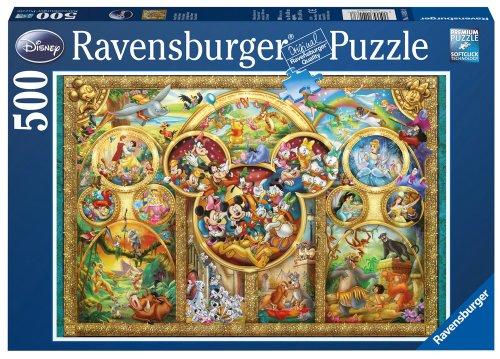 Ravensburger 141838 Disney Disney Legpuzzel, Multicolor