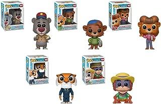 POP! Disney: TaleSpin Baloo, Kit CloudKicker, Rebecca Cunningham, Shere Khan, Louie Vinyl Figures Set