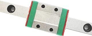TEN-HIGH Linear Rail, 1pcs CNC Parts MR9 MGN9 Miniature Linear Guide Rail Way Slide 550mm+1pcs MGN9H Slider Miniature Linear Motion Guide Way