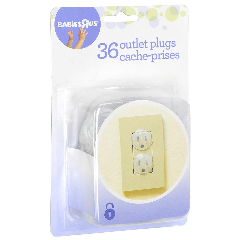 Babies R Us Outlet Plugs - 36 Count Keep Those Little Fingers Safe!!