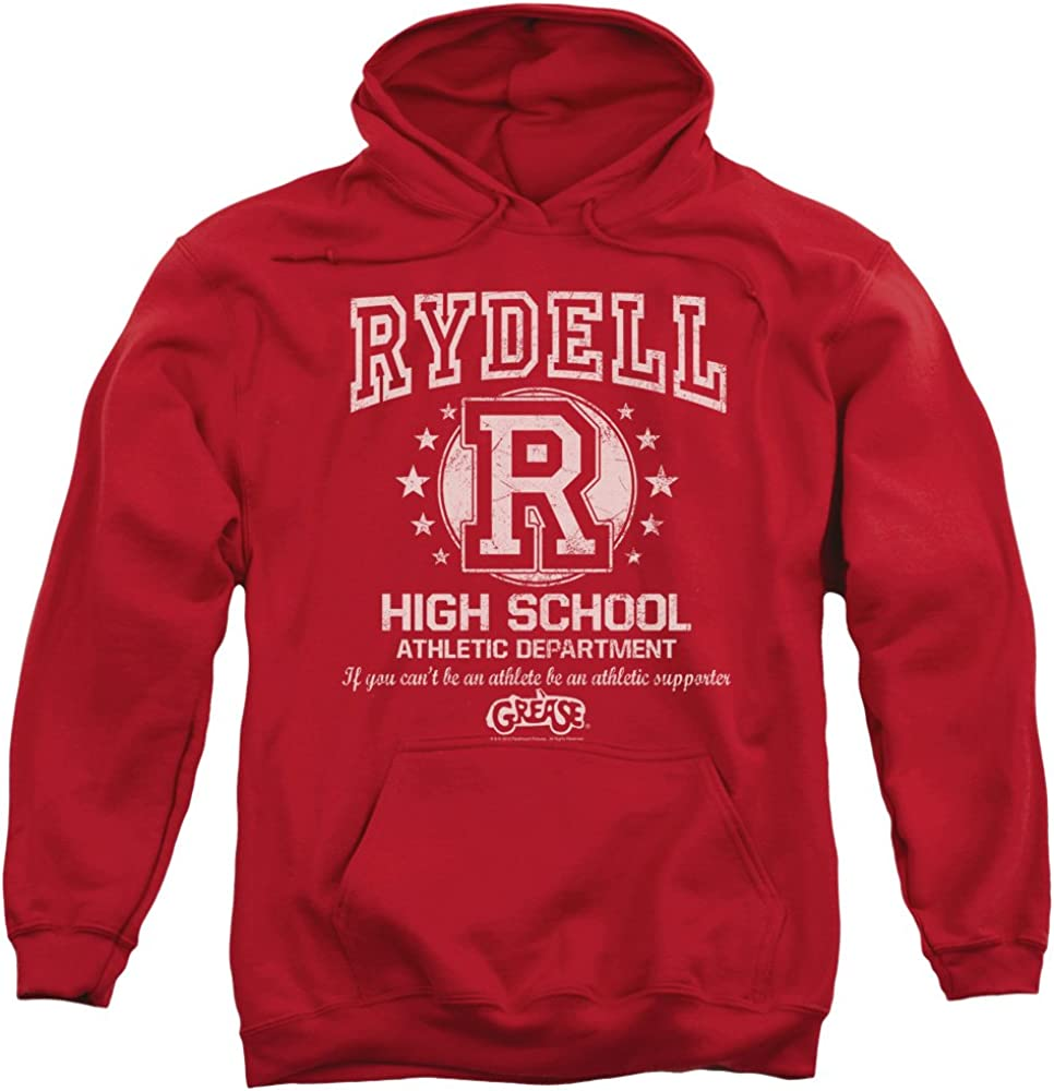 Grease 激安通販販売 Rydell High Unisex Adult Pull-Over Hoodie and 評判 for Men Wom