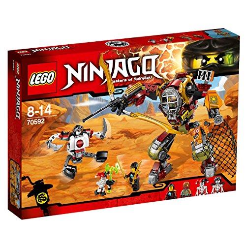 LEGO Ninjago 70592 - Schatzgräber M.E.C., Spielzeug für Jungen und Mädchen