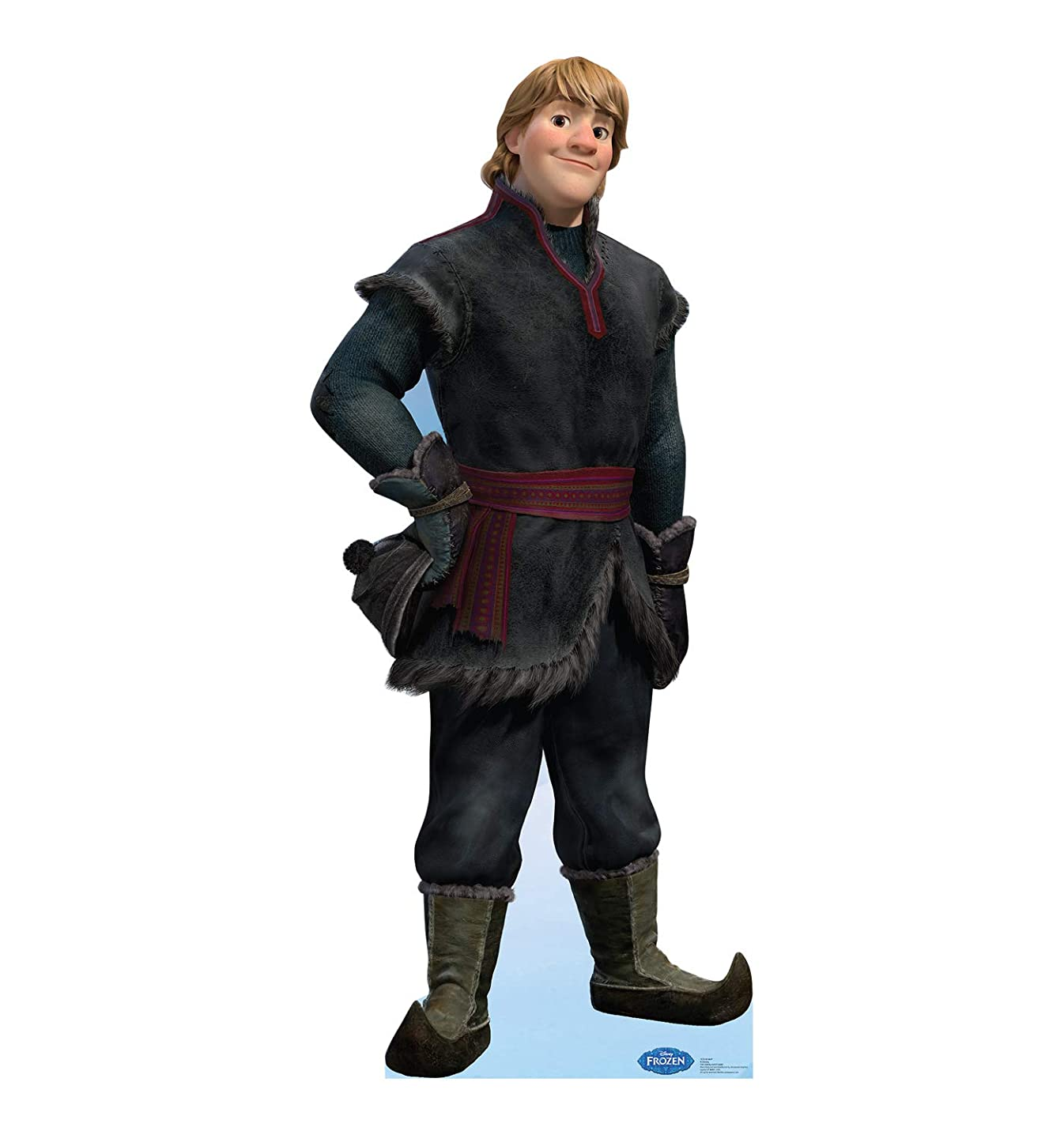 Advanced Graphics Kristoff Life Size Cardboard Cutout Standup - Disney's Frozen (2013 Film)