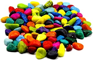 Creative Farmer 5Kg Multi-Color Mixed Decorative Small Stone for Garden/Lawn/Aquarium Decoration Glossy Stones Home Vase F...